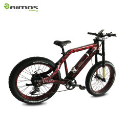 "Latest 26"" Snow Mountain Electric Bike in Fashionable Aluminum Alloy Frame"