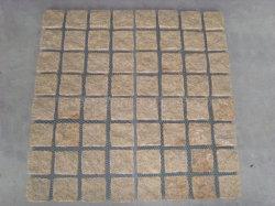 Light Grey/Dark Grey/Red/Yellow Granite Garden/Cobble/ Cube/Kerb/Fan Shape/Paving Stones for Landscaping/Parking/Driveway/Walkway