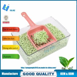 Pet Cleaning: OEM Green Tea Tofu Cat Litter/Sand
