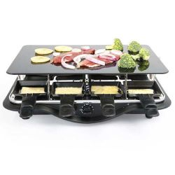 Electric Ceramic Grill with Glass Plate