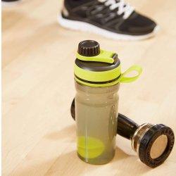 20 Ounce Plastic Sports Fitness Protein Shaker Water Drink Bottle