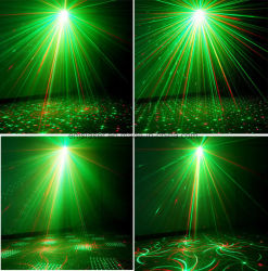 Mini Outdoor Garden Waterproof Laser Light Show for Trees with IR Remote Control