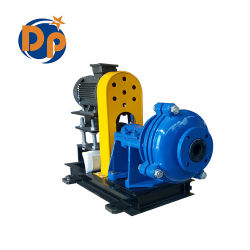 China Factory Horizontal Centrifugal Rubber Liner Slurry Pump