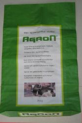 PP Woven Packaging Bag with Printing Glossy OPP Film