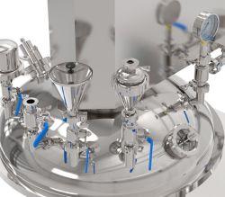 Stainless Steel Emulsifying Machine Emulsifier Mixing Tank System