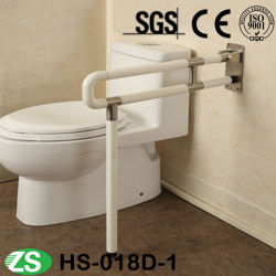 Standard Loading Capacity Bathroom Lift-up Grab Bar Handle