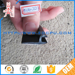 Extruded Solid Silicone Rubber Gasket Seal / Rear Side Window Seal