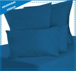 Solid Color Navy Cotton Bedsheet