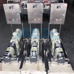 Sanitary High Efficiency Ketchup Transfer Pump Lobe Pump