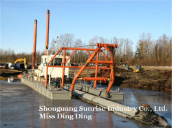 4-22 Inch Sand Cutter Suction Dredger Manufacturer (ISO, ZC Certificate)