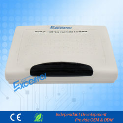 Expandable Telephone Exchange Cp832 with PC Management PBX with Caller ID Intercom System