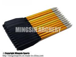 Lj161 Hunting Bow Arrow Two Fletching Hunting Arrow Aluminum Arrow China Wholesale