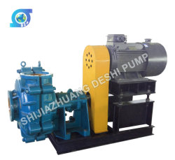 Horizontal Mine Minerals Processing Ultra Chrome Industrial Water Centrifugal Rubber Sand Slurry Pump