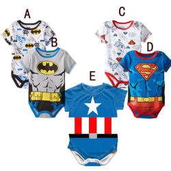 Baby Toddlers Romper Jumpsuit Outfits Costume, Short Sleeved