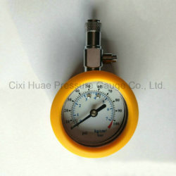 50mm with PVC Protective Jacket Multifunction of Tire Pressure Meter
