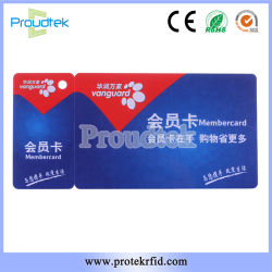 RFID Die Cut Card ISO Card Combo Chip Card for Supermarket Loyalty Program