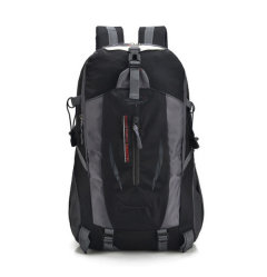 2017 Promotional Outdoor Mountaineering Bag Men and Women Backpack Travel Sports Waterproof Pack