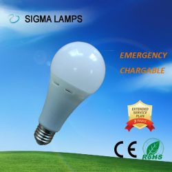 Sigma AC/DC Gfc 7W 9W 12W B22 E27 Emergency Rechargeable Bulb LED Light Lamp