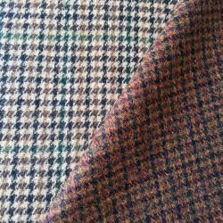 100% Wool Colorful Fancy Tweed English Wool Fabric, Britain Style Woolen Fabric, 450G/M