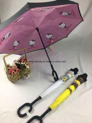 Reversible Umbrella with Cartoon Designs