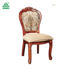 Factory Simple Wooden Frame Chair / Hotel Dining Room Furniture