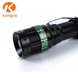 Wholesale Waterproof AAA /18650 Battery Aluminum Zoomable Tactical LED Flashlight