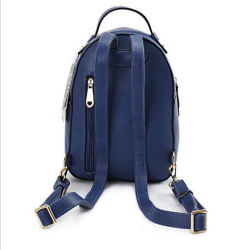 2018 Personality Pattern PU Leather Backpack Bag with Bowknot