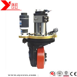 Electric Steering Direct Cur Vertical Forklift Driving Wheel For