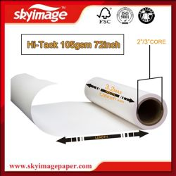 Skyimage Fs105GSM High Adhesive Sublimation Paper Roll for Jersey/Sportswear/Swimwear