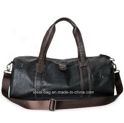Vintage PU Leather Travel Sport Duffle Bag e1ad2e5d449ba
