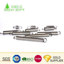 Manufacturer Customized Mechanical Auto Baby Carriage Linear Sports Draught Spiral Bouble Hook Metal Suspension Spring