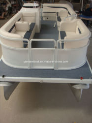 20FT High Quality Rowing Inflatable Aluminum Pontoon Boats Top Selling