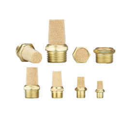 Professional Wholesales of 10mm Metal Pneumatic Connector