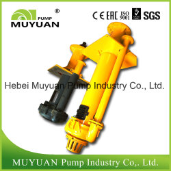 Centrifugal Rubber Lined Waste Water Handling Vertical Slurry Pump