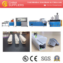 PC LED Lighting Tubes Extrusion Line