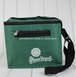 Nonwoven Picnic and Travel Cooler Lunch Bag with Outside Pocket