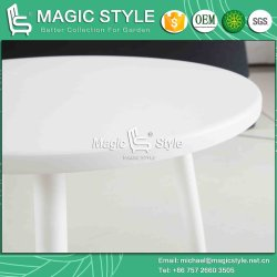 Outdoor Stamping Coffee Table Garden Punching Tea Table Alumium Tea Table Cafe Round Table Three Legs Table Modern Tea Table