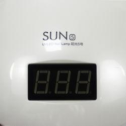48W Nail Dryer, LED UV Lamp Gel Nail Polish Dryer Power Adjustable White Light Fingernail & Toenail Gel Curing Nail Art Lamp