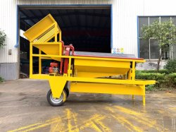 Portable Gold Mining Equipment with Sluice Box of Extracting Gold