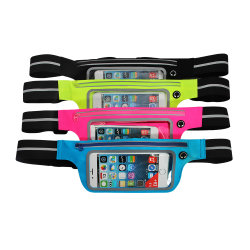 Waterproof Bag Fanny Running Belt Pouch Pocket Jogging Sport Travel Zipper Pack