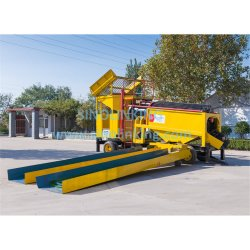 Sinolinking Gold Mining Washing Equipment Alluvial Gold Mining Trommel Machinery