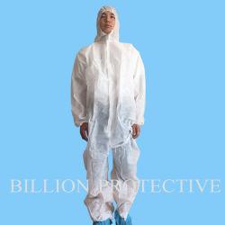 Xiantao Hubei Yf Disposable White PP/SMS/SMMS/ Coverall