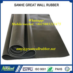 Reach PAHs Certificate EPDM/Neoprene/Silicon/Silicone/Butyl Natural Rubber Sheet Non-Slip Floor Mat