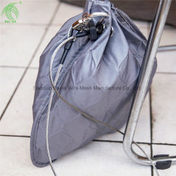 Hand Woven Stainless Steel Metal Mesh Bag for Anti-Theft