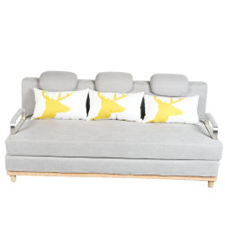 Modern Living Room Folding Fabric Sofa Bed Futon 609