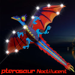 New Custom Outdoor Sport Toy Promotion Logo Dragon Animal Kite From Kite Factory