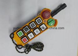 Factory F21-6D Industrial Wireless Radio Remote Control for Bridge, Overhead, Mobile, Eot Crane, etc