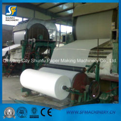 Small Toilet Tissue Roll Making Machine for Toilet Tissue Paper Production Line