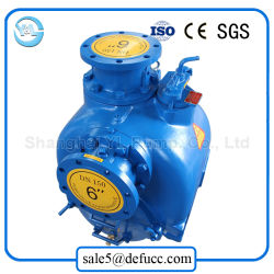 6 Inch Sand Suction Self Priming Diesel Engine Pump