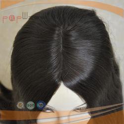 Brown Color White Skin Top Jewish Kosher Wig (PPG-l-01261)